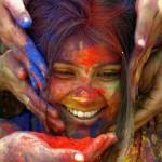 viso di fanciulla colorato(menarca)